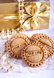 Homemade ginger cookies Stock Photography