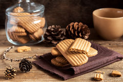 Homemade ginger cookies Royalty Free Stock Photography