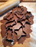 Homemade gingerbread cakes Royalty Free Stock Photos