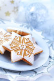 Homemade gingerbread for Christmas Royalty Free Stock Image