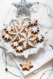 Homemade gingerbread for Christmas Royalty Free Stock Images