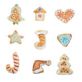 Homemade Gingerbread cookies Royalty Free Stock Photography