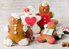 Homemade gingerbread cookies Stock Image