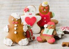 Homemade gingerbread cookies Stock Image