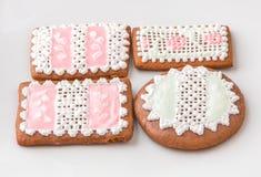 Homemade gingerbread cookies. Stock Photos