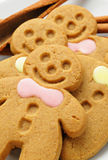 Homemade Gingerbread Men Stock Image