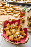 Homemade gingerbread Stock Image