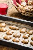 Homemade gingerbread Stock Photo
