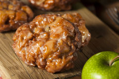 Free Homemade Glazed Apple Fritters Stock Photo - 44475620