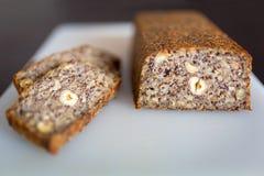 Homemade gluten free bread Royalty Free Stock Image