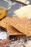 Homemade Gluten Free Crispbread Stock Image