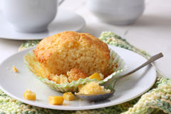 Homemade gluten-free muffins from corn flour Stock Image