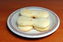 Homemade gluten-free sponge cake Royalty Free Stock Image