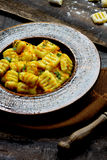 Homemade gnocchi Royalty Free Stock Photography