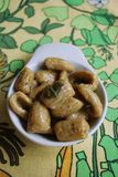 Homemade gnocchi Stock Image