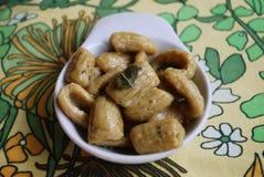Homemade gnocchi Stock Images