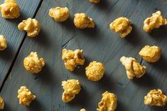 Homemade Golden Caramel Popcorn Royalty Free Stock Photos