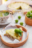 Homemade gooseberry pie Stock Photo