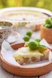 Homemade gooseberry pie Stock Photos