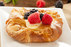 Homemade Gourmet Danish Pastry Royalty Free Stock Images