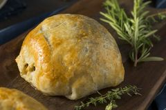 Homemade Gourmet Individual Beef Wellington. Ready to Eat stock image