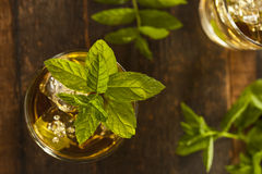 Homemade Gourmet Mint Julep Stock Photos