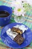 Homemade granola bars Royalty Free Stock Photography