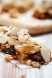Homemade granola bars Royalty Free Stock Photos