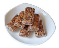 Homemade Granola Bars Stock Photo