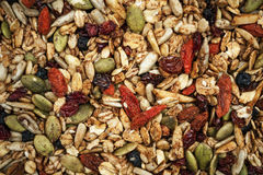 Homemade granola Stock Image
