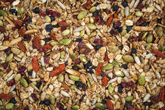 Homemade granola Stock Photos