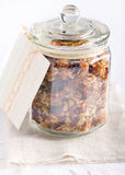 Homemade granola Stock Photo