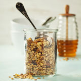 Homemade granola Royalty Free Stock Image