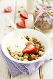 Homemade granola Stock Photography