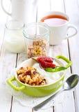 Homemade granola Royalty Free Stock Photo