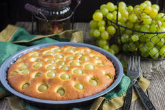 Homemade grape pie Royalty Free Stock Images