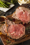 Homemade Grass Fed Prime Rib Roast Royalty Free Stock Photography
