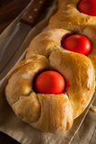 Homemade Greek Easter Bread Stock Images