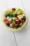 Homemade greek salad Royalty Free Stock Photo