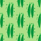 Homemade green peas pattern Stock Photos