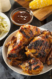 Homemade Grilled Barbecue Chicken Stock Images