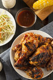 Homemade Grilled Barbecue Chicken Royalty Free Stock Photography