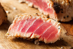 Homemade Grilled Sesame Tuna Steak Royalty Free Stock Images