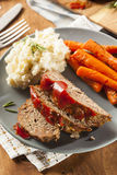 Homemade Ground Beef Meatloaf Royalty Free Stock Images