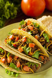 Homemade Ground Beef Tacos Stock Images