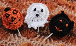 Homemade Halloween Treats Royalty Free Stock Images