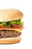 Homemade hamburger Royalty Free Stock Photo