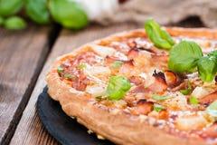 Homemade Hawaiian Pizza Royalty Free Stock Image