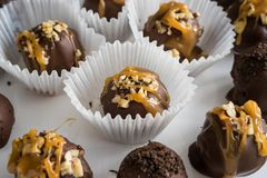 Homemade Healthy Chocolate Truffles