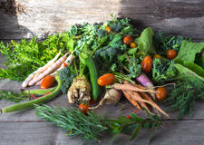 Homemade healthy fresh vegetables Royalty Free Stock Photography
